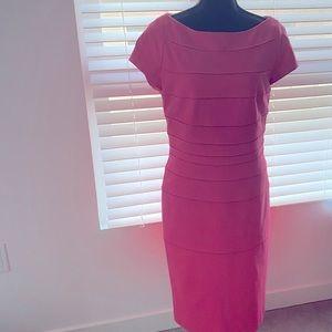 Escada Pink Boatneck MIDI Dress - DRESS BUNDLES!!
